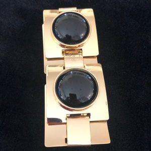 Chucky Talbots Bracelet, Black & Gold